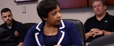 Photo of AG Lynch in Orlando