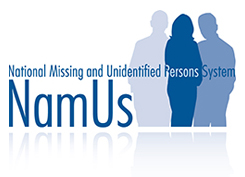National Missing and Unidentified Persons System - NamUs logo