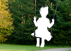 swing with missing child