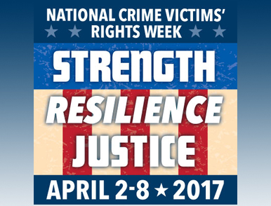 National Crime Victims' Rights Week (NCVRW)