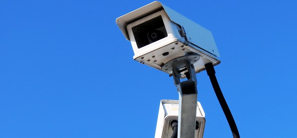 Picture of a surveilance camera