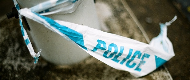 Picture of police tape