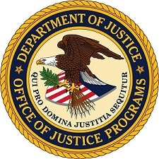 Department of Justice, Office of Justice Programs logo