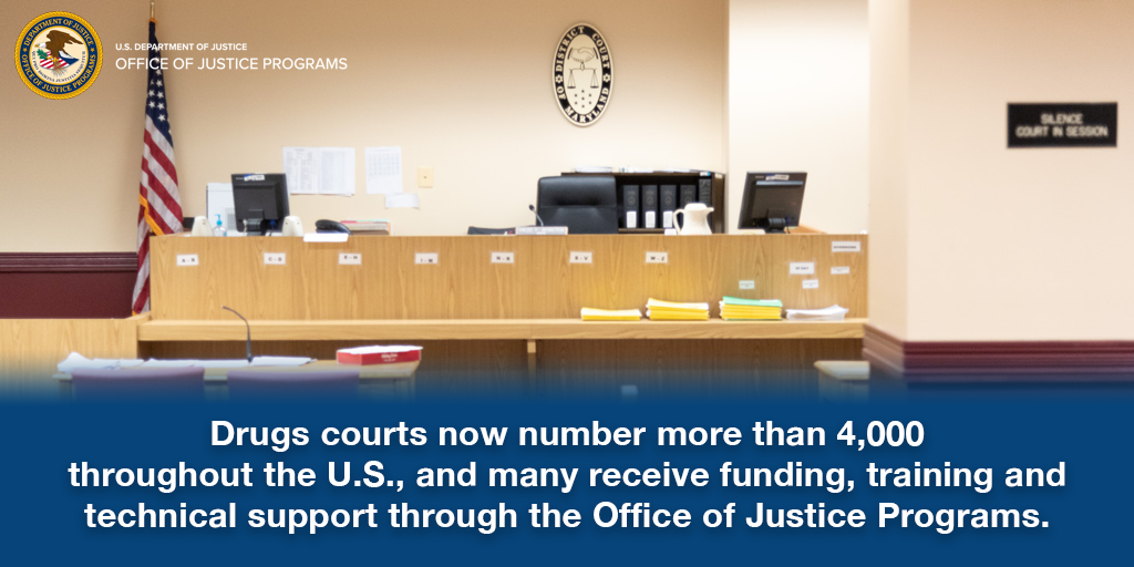 Drug Courts Offer Second Chance