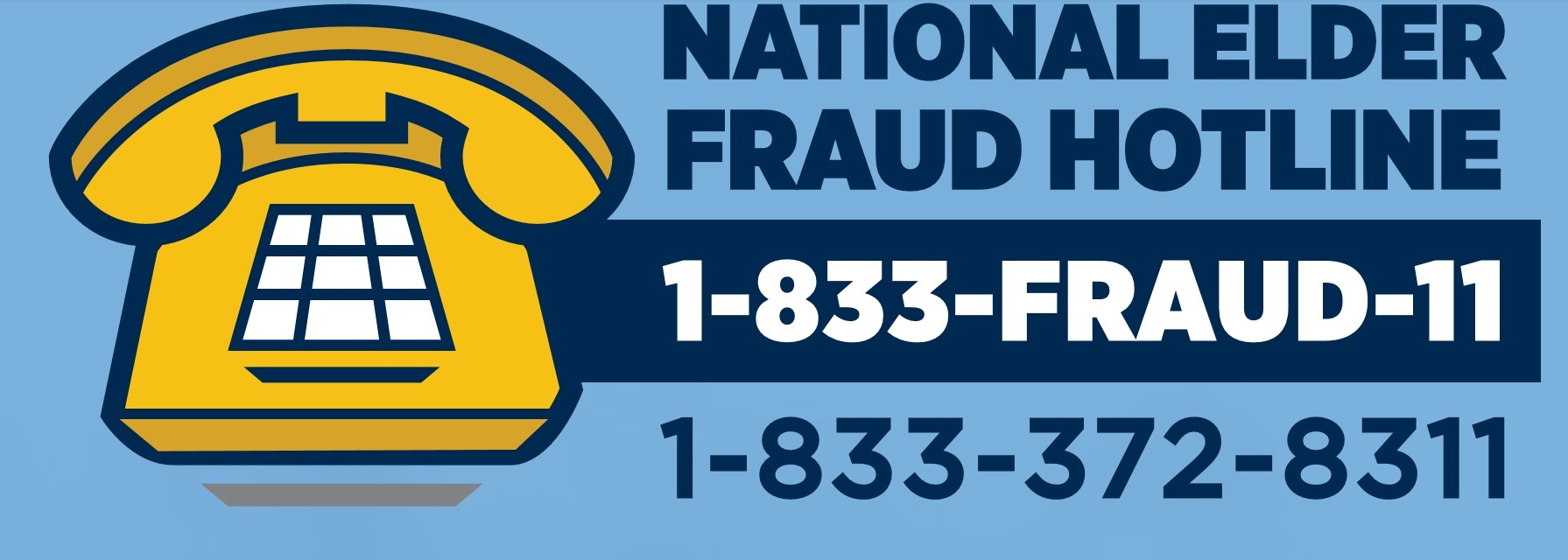 National Elder Fraud Hotline