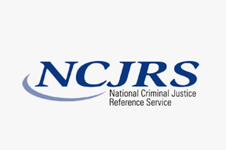 National Criminal Justice Reference Service
