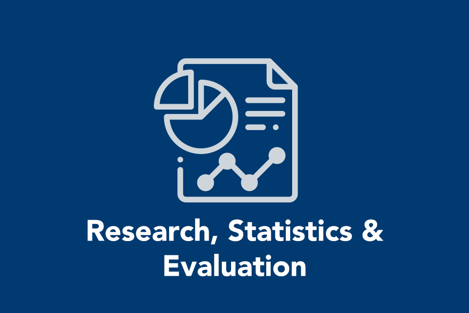 Research, statistics, and evaluation