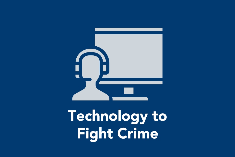 Technology to fight crime
