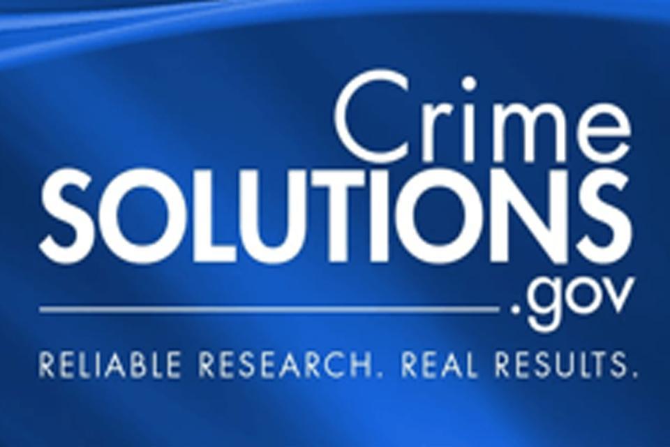 CrimeSolutions.gov