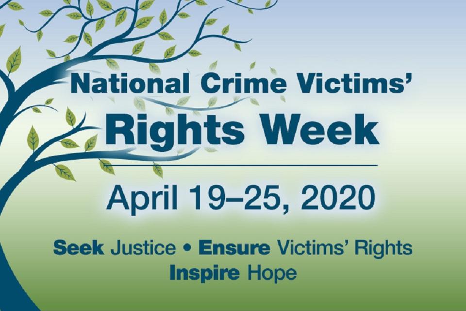 National Crime Victims' Rights Week (NCVRW) 2020